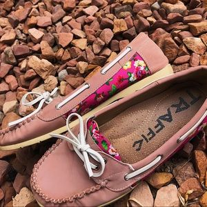 Cute and casual boat shoes